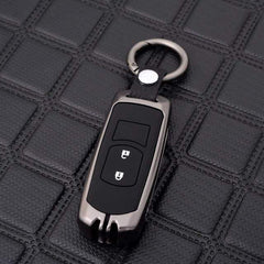OEL DESIGN GUN KEYRING Mazda Zinc Alloy Silica Gel Car Remote Key Case Cover