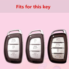 OEL DESIGN Hyundai Car Key Case Protection Cover