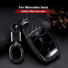 OEL DESIGN Mercedes Benz Carbon Fiber Pattern Silicone Cover Case