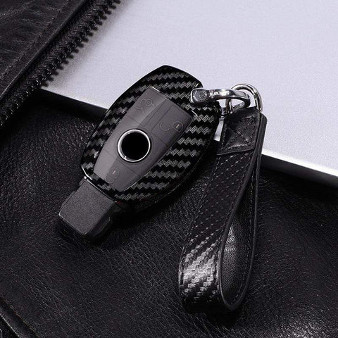 OEL DESIGN Mercedes Benz PC Carbon Fiber Key Cover Key Shell Case