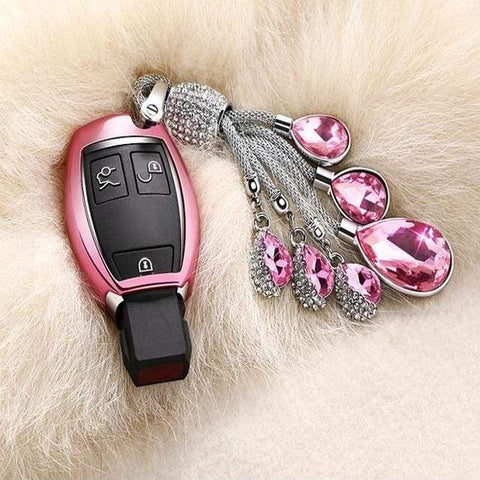 OEL DESIGN Mercedes Benz Smart Remote Soft TPU Car Key Case