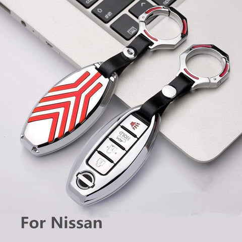 OEL DESIGN Nissan Qashqai Zinc alloy Car Remote Key Cover Case