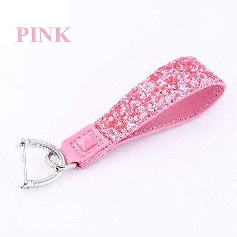 OEL DESIGN PINK KEYCHAIN 2 Nissan Crystal Shining Car Key protect Case Cover