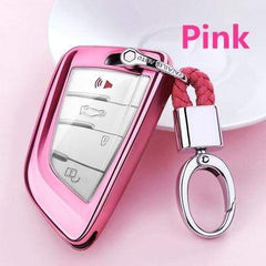 OEL DESIGN PINK KEYCHAIN ONLY BMW Car Key Case Cover