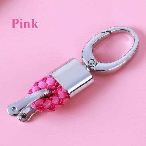 OEL DESIGN PINK KEYCHAIN ONLY Ford Car Remote Key Cover