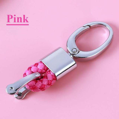 OEL DESIGN PINK  KEYCHAIN ONLY Toyota Car key Fob Cover Case Shell Set Holder