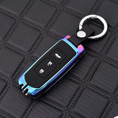 OEL DESIGN RAINBOW KEYCHAIN Mazda Zinc Alloy Silica Gel Car Remote Key Case Cover