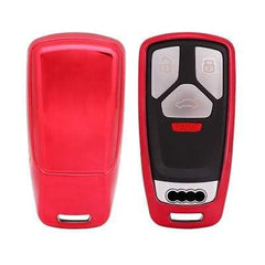 OEL DESIGN RED KEY COVER Audi Car Key Cover