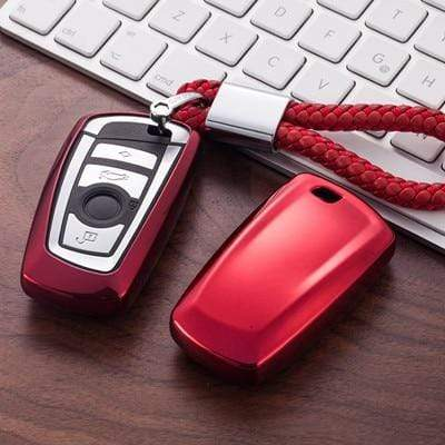OEL DESIGN RED KEY COVER BMW Key Case Cover