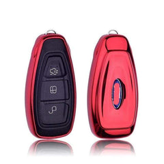 OEL DESIGN RED KEY COVER FORD C-MAX Car Key Cover