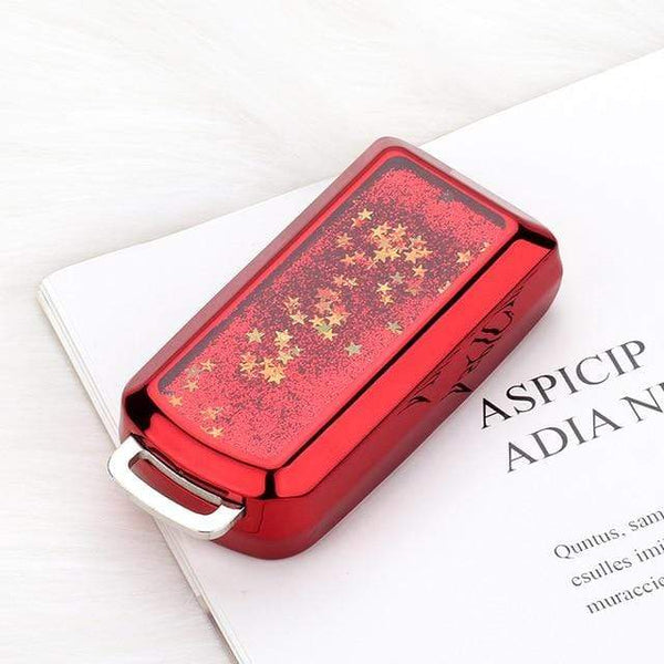 OEL DESIGN RED KEY COVER Mitsubishi Car Key Case