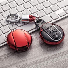 OEL DESIGN RED KEYCHAIN MINI COOPER Key Cover