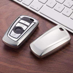 OEL DESIGN SILVER KEY COVER BMW Key Case Cover