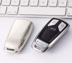 OEL DESIGN SILVER KEY COVER ONLY Audi Car Key Cover