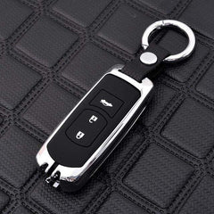 OEL DESIGN SILVER KEYRING Mazda Zinc Alloy Silica Gel Car Remote Key Case Cover