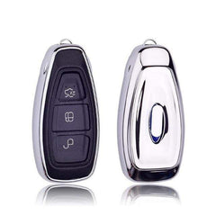 OEL DESIGN SLIVER KEY COVER FORD C-MAX Car Key Cover