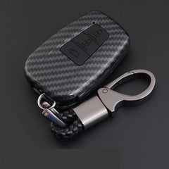 OEL DESIGN Toyota Cover Remote Key Holder Fob Case & KeyChain