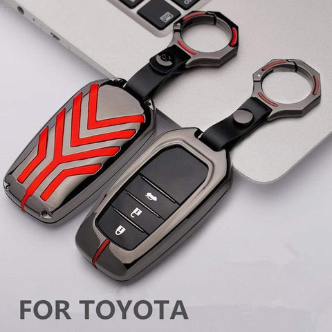 OEL DESIGN Toyota Zinc alloy Car Remote Key Cover Case