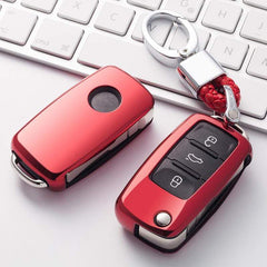 OEL DESIGN Volkswagen Car Key Case Shell