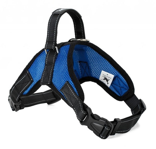 Ultra-light mesh no choke dog harness