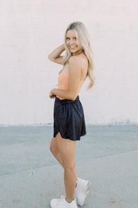 Kinsley Leopard Shorts