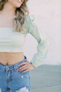 Madison Long Sleeve Crop
