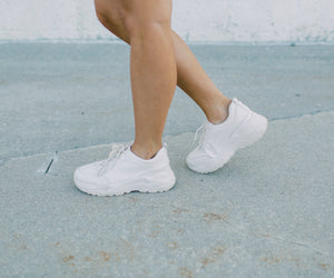 **PRE-ORDER** All White Sneakers