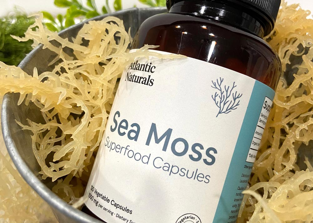 The amazing benefits of Sea Moss Capsules