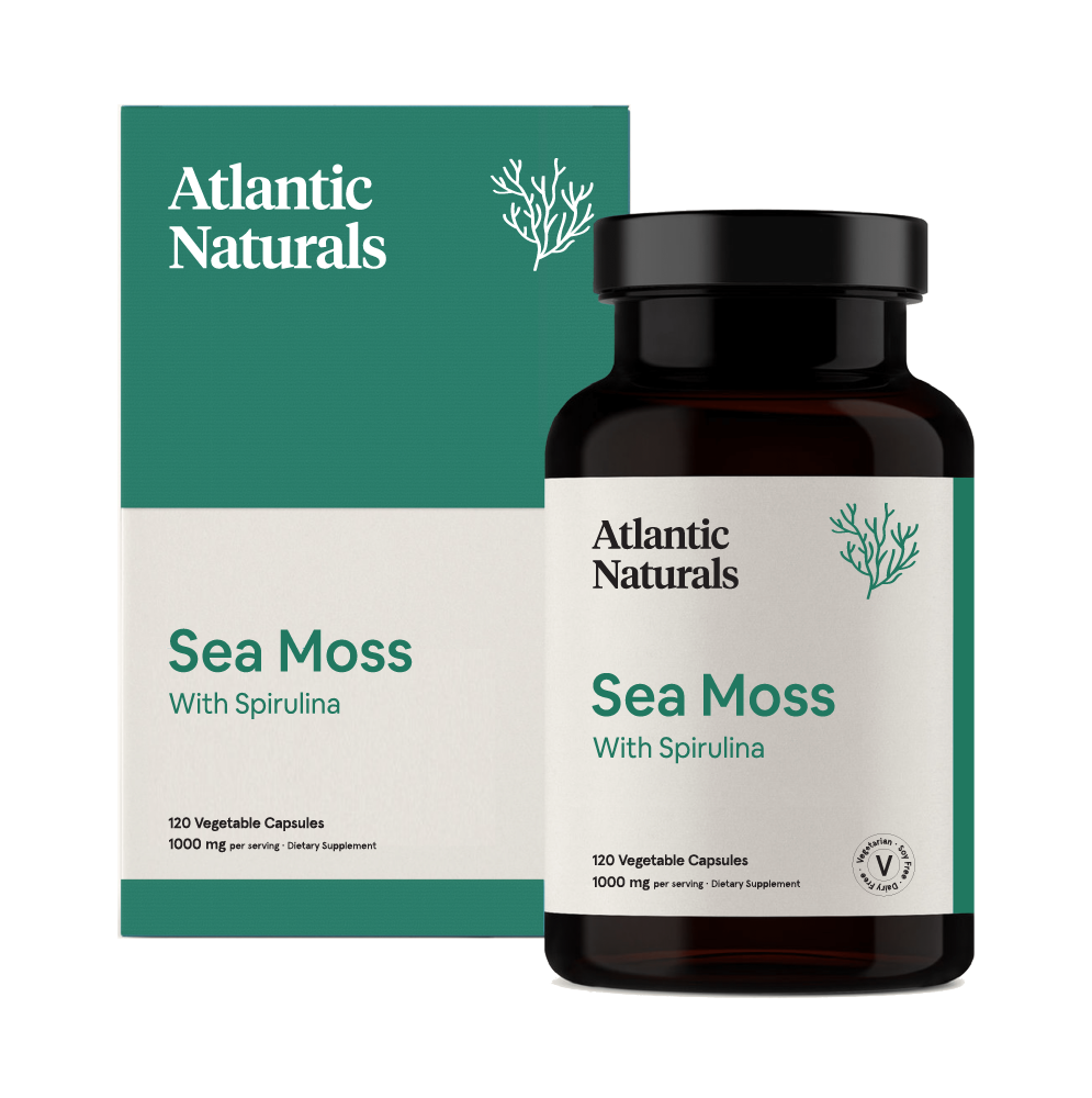 Organic Sea Moss with Beet Root Capsules