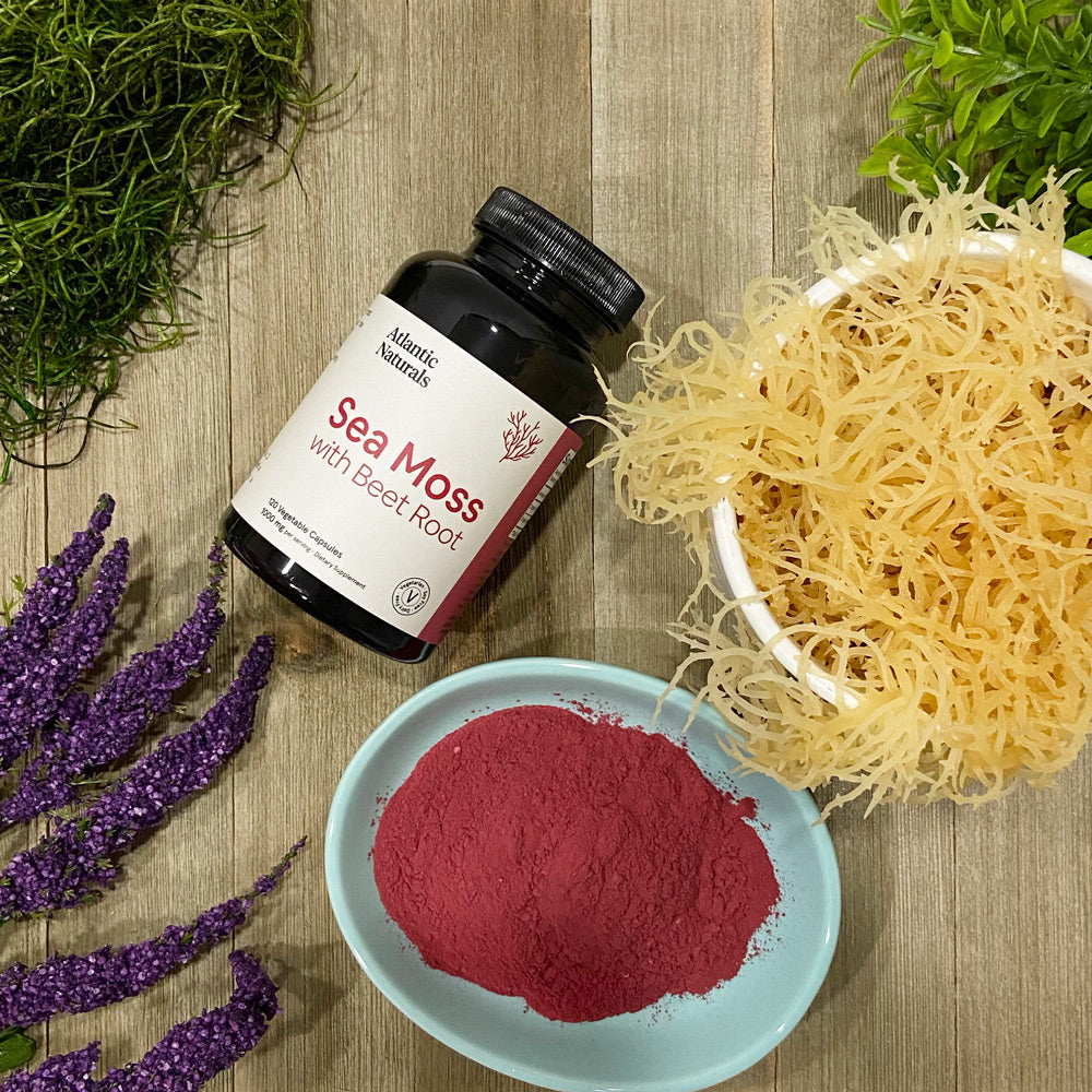 Raw Sea Moss with Beet Root