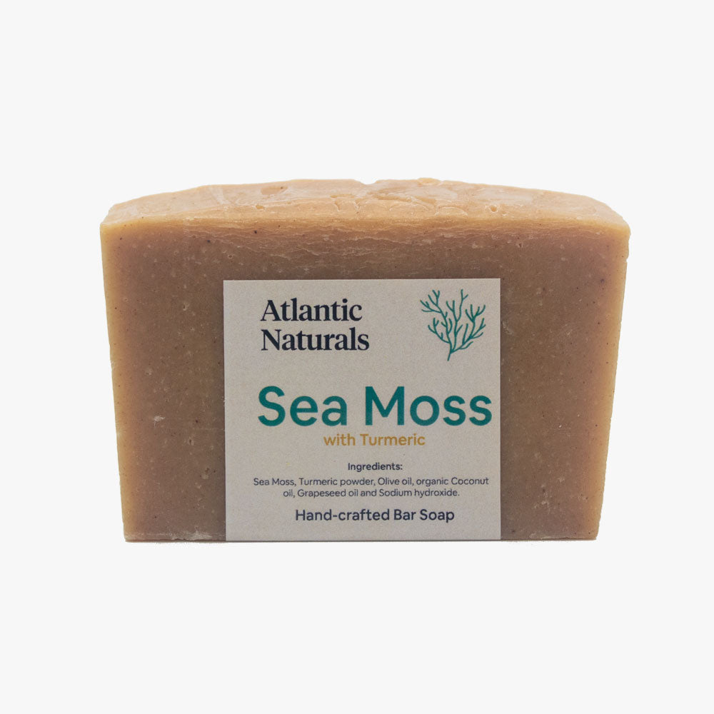 Sea Moss with Turmeric Bar Soap