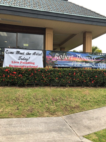 Keauhou Shopping Center front signs 2019