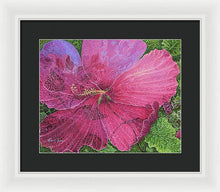 Load image into Gallery viewer, Pink Hibiscus Dream - Framed Print
