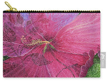 Load image into Gallery viewer, Pink Hibiscus Dream - Carry-All Pouch