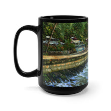 Load image into Gallery viewer, Kona by the Sea, By Robert Thomas, Black Mug 15oz