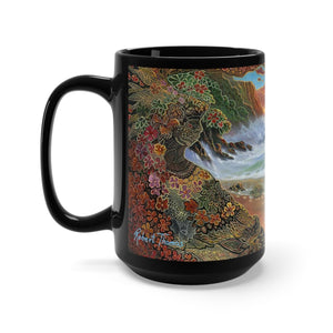 Big Island Dreams, By Robert Thomas, Black Mug 15oz