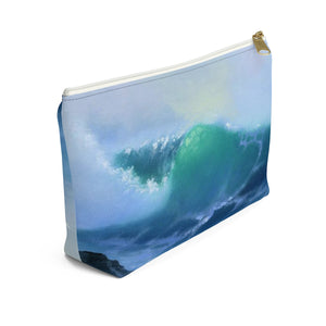 Light Wave By Robert Thomas Accessory Pouch