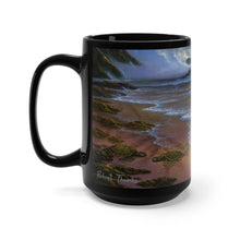 Load image into Gallery viewer, Turtle Beach, By Robert Thomas, Black Mug 15oz