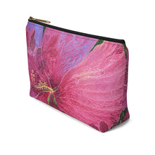 Load image into Gallery viewer, Pink Hibiscus Dream Accessory Pouch