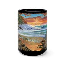 Load image into Gallery viewer, Big Island Dreams, By Robert Thomas, Black Mug 15oz