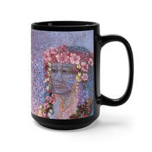 Load image into Gallery viewer, Sisterly Love with Pele, By Robert Thomas, Black Mug 15oz