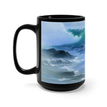 Load image into Gallery viewer, Light Wave, By Robert Thomas, Black Mug 15oz