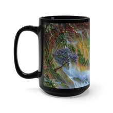 Load image into Gallery viewer, Heart of Hawaii, By Robert Thomas, Black Mug 15oz