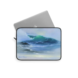 Light Wave Laptop Sleeve