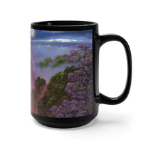 Load image into Gallery viewer, Kilauea Mauna Kea Moon, by Robert ThomasBlack Mug 15oz