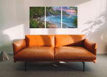 Load image into Gallery viewer, Hanakapiai Na Pali Coast Triptych -By Robert Thomas