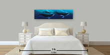 Load image into Gallery viewer, Humpback Whale Ohana By Robert Thomas, Canvas Giclee 12x48,