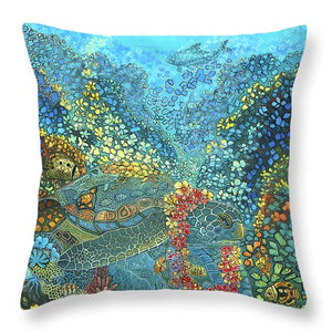 A Hui Hou  - Throw Pillow