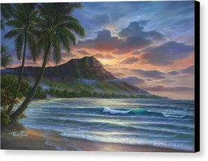 Diamond Sunrise - Canvas Print