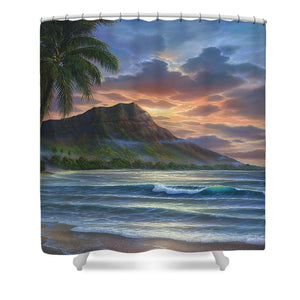 Diamond Sunrise - Shower Curtain